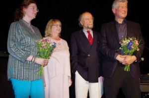 Maren Schönfeld, Sabine Witt, Wolf-Ulrich Cropp, Joachim Frank (v.r.n.l.)